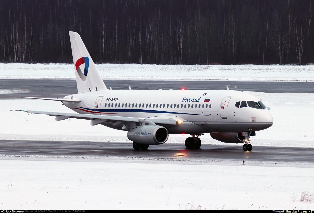 Sukhoi Superjet-100 RA-89118 (95172)
