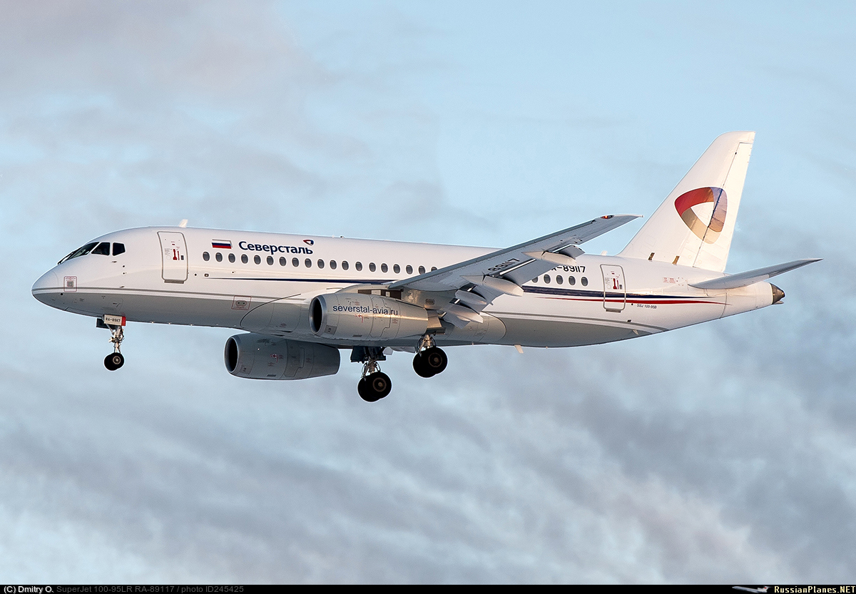 Sukhoi Superjet-100 RA-89117 (95159)