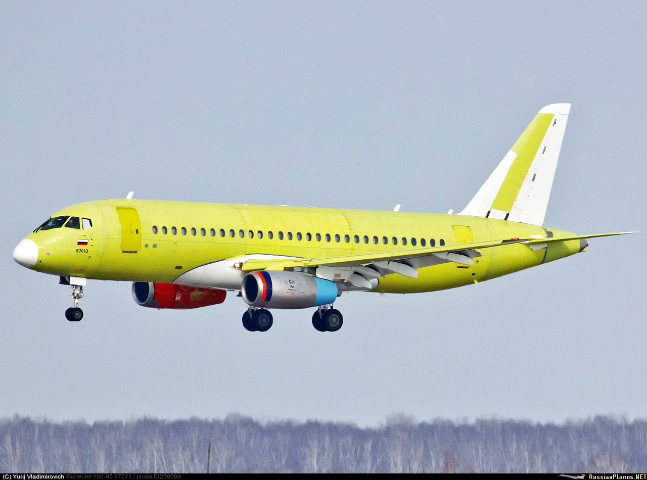Sukhoi Superjet-100 97013 (95178)