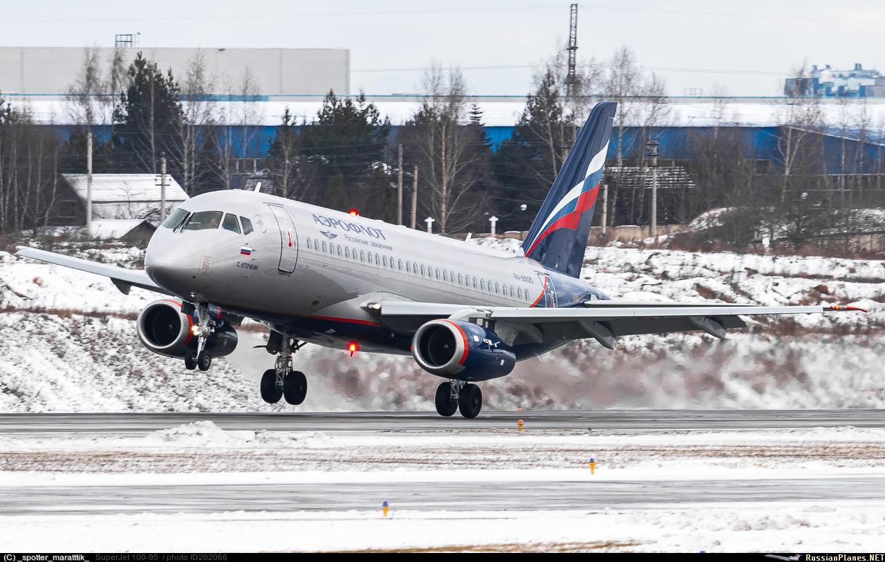 Sukhoi Superjet-100 RA-89125 (95188)
