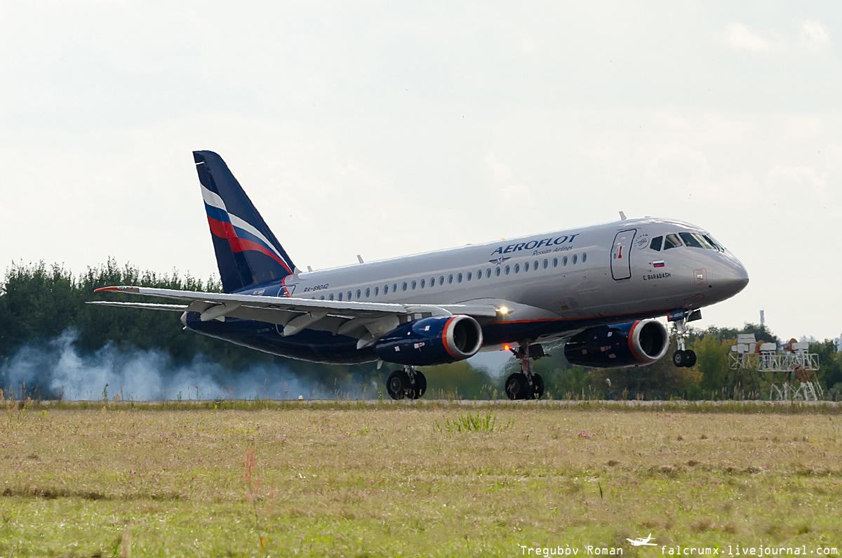Sukhoi Superjet-100 RA-89042 (95068)
