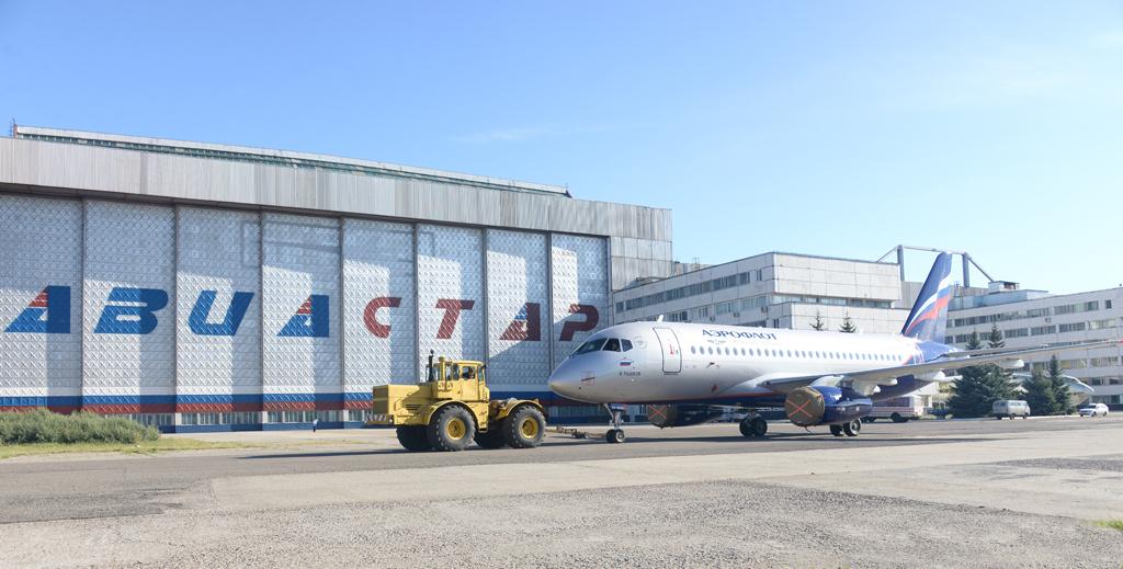 Sukhoi Superjet-100 RA-89061 (95090)