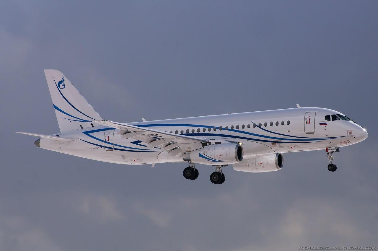 Sukhoi Superjet-100 RA-89029 (95057)