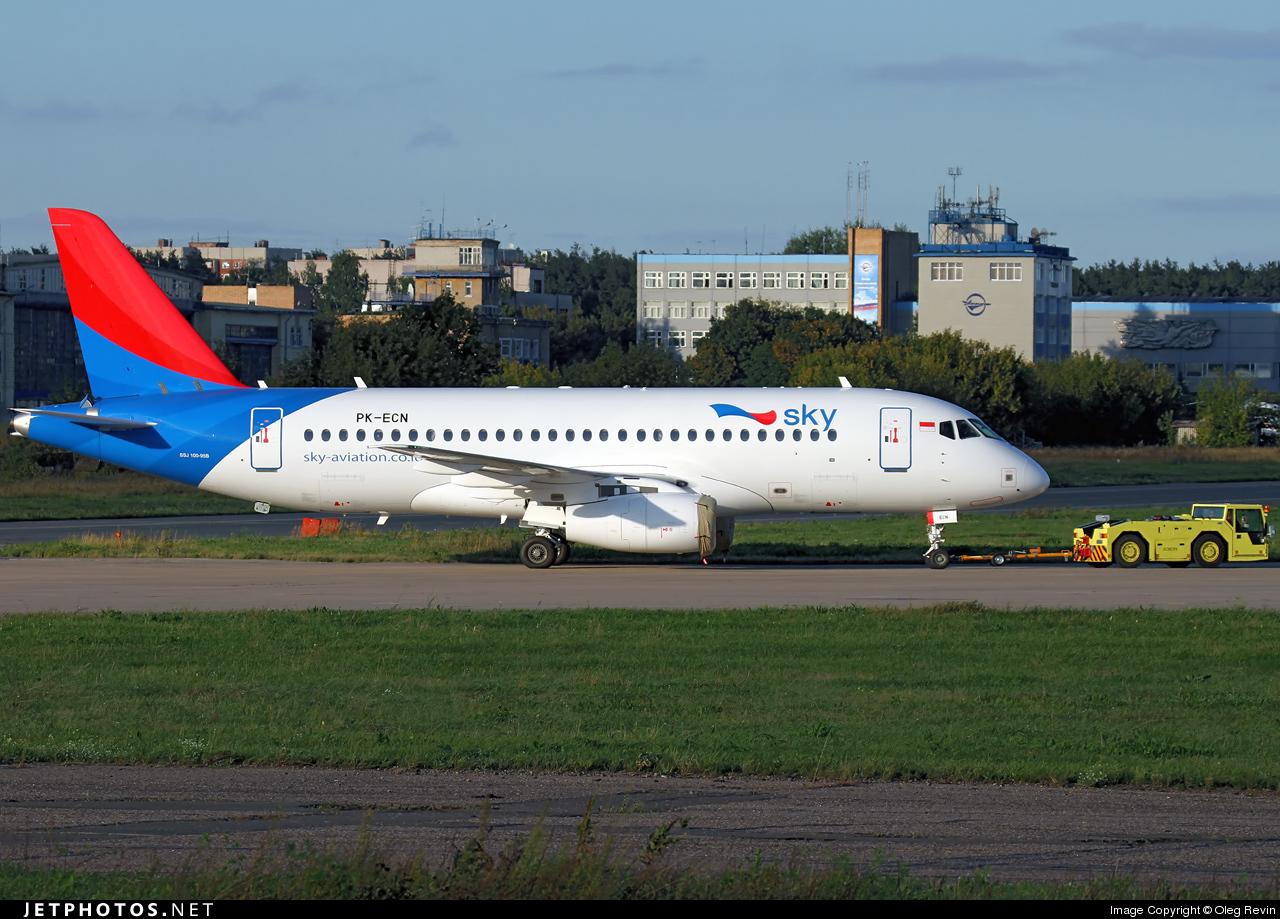Sukhoi Superjet-100 - PK-ECN