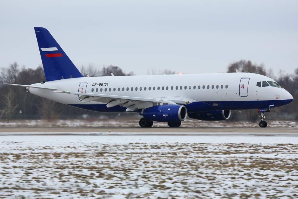 Sukhoi Superjet-100 - Новый борт для МВД