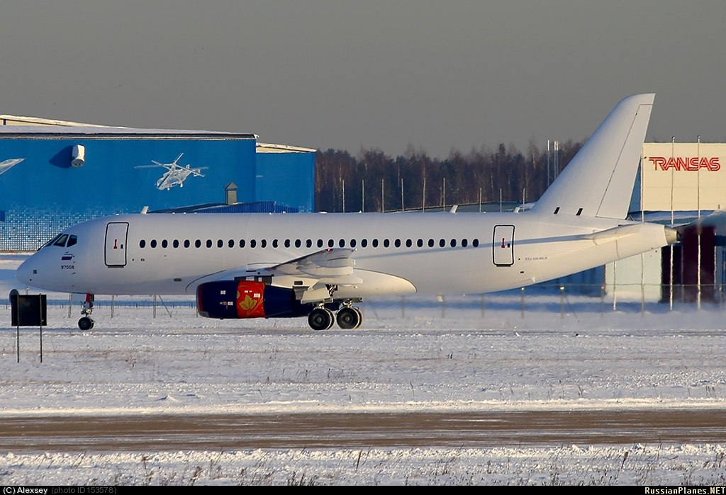 Sukhoi Superjet-100 - первая фото 95061