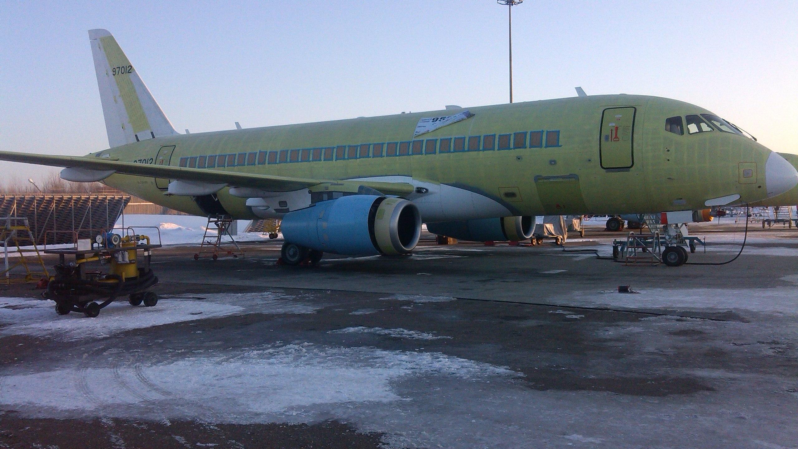 Sukhoi Superjet-100 XA-GCD (95052)