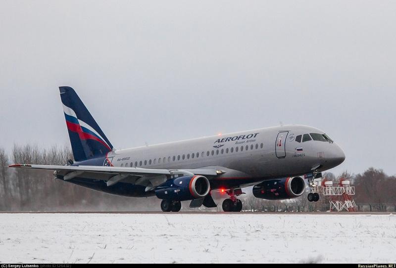 Sukhoi Superjet-100 RA-89022 (95039)