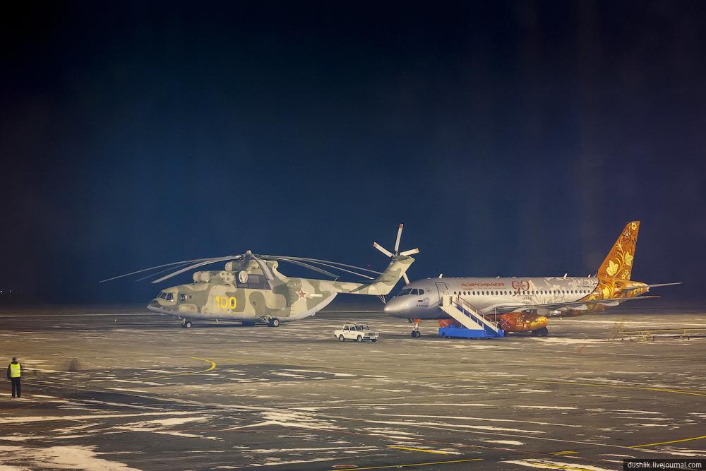 Sukhoi Superjet-100 - Суперджет в Челябинске