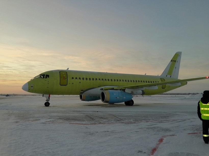 Sukhoi Superjet-100 XA-VER (95081)