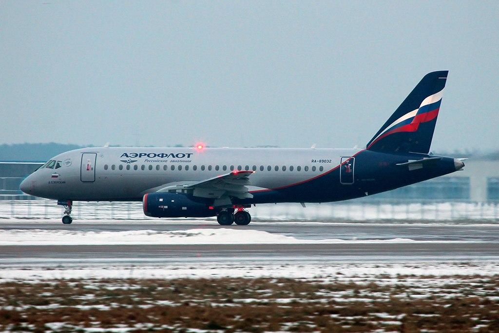 Sukhoi Superjet-100 - RA-89032 в Жуковском
