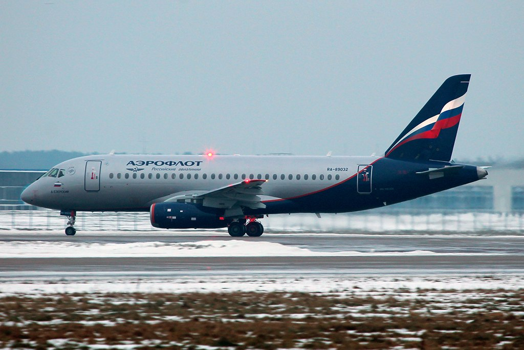 Sukhoi Superjet-100 RA-89032 (95043)