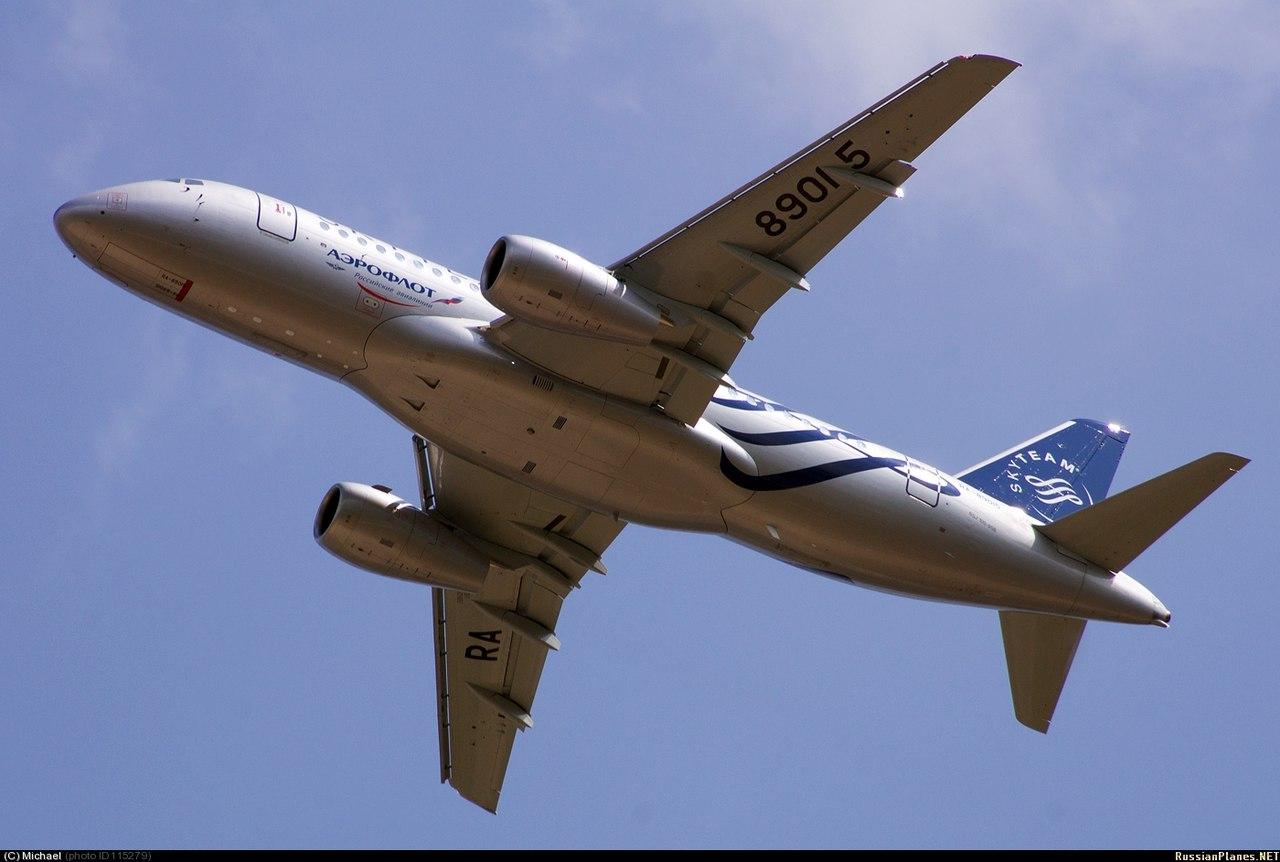 Sukhoi Superjet-100 RA-89015 (95029)