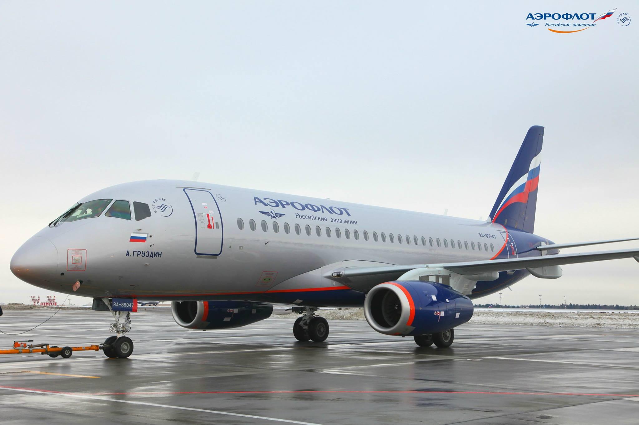 Sukhoi Superjet-100 RA-89047 (95084)