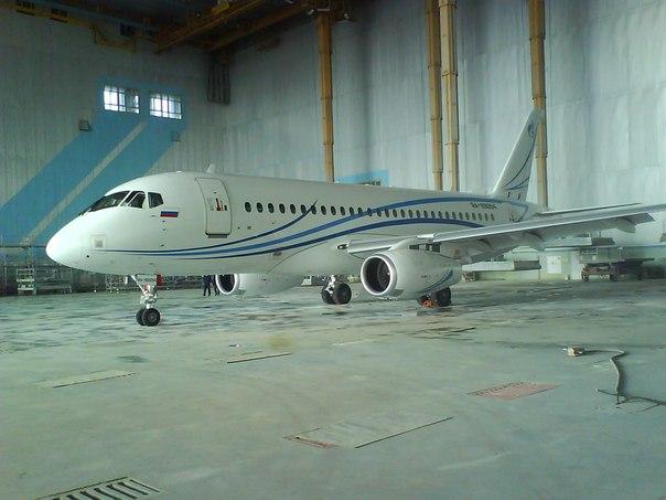 Sukhoi Superjet-100 RA-89054 (95092)
