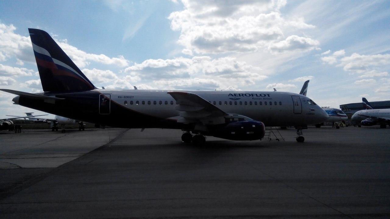 Sukhoi Superjet-100 RA-89027 (95053)