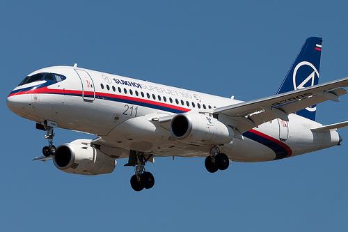 Sukhoi Superjet-100 97005 (95005)