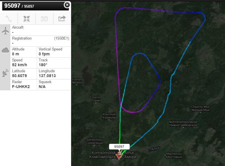 Sukhoi Superjet-100 - 95097
