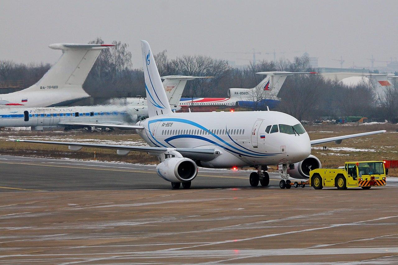 Sukhoi Superjet-100 RA-89019 (95056)