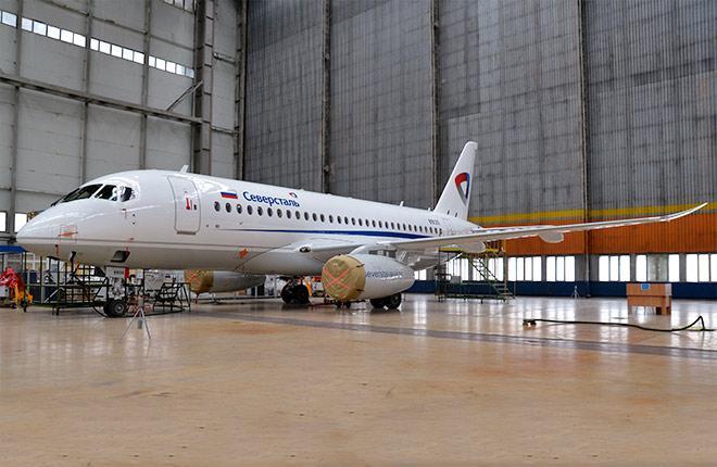 Sukhoi Superjet-100 RA-89135 (95181)
