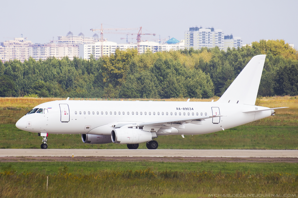 Sukhoi Superjet-100 - RA-89034
