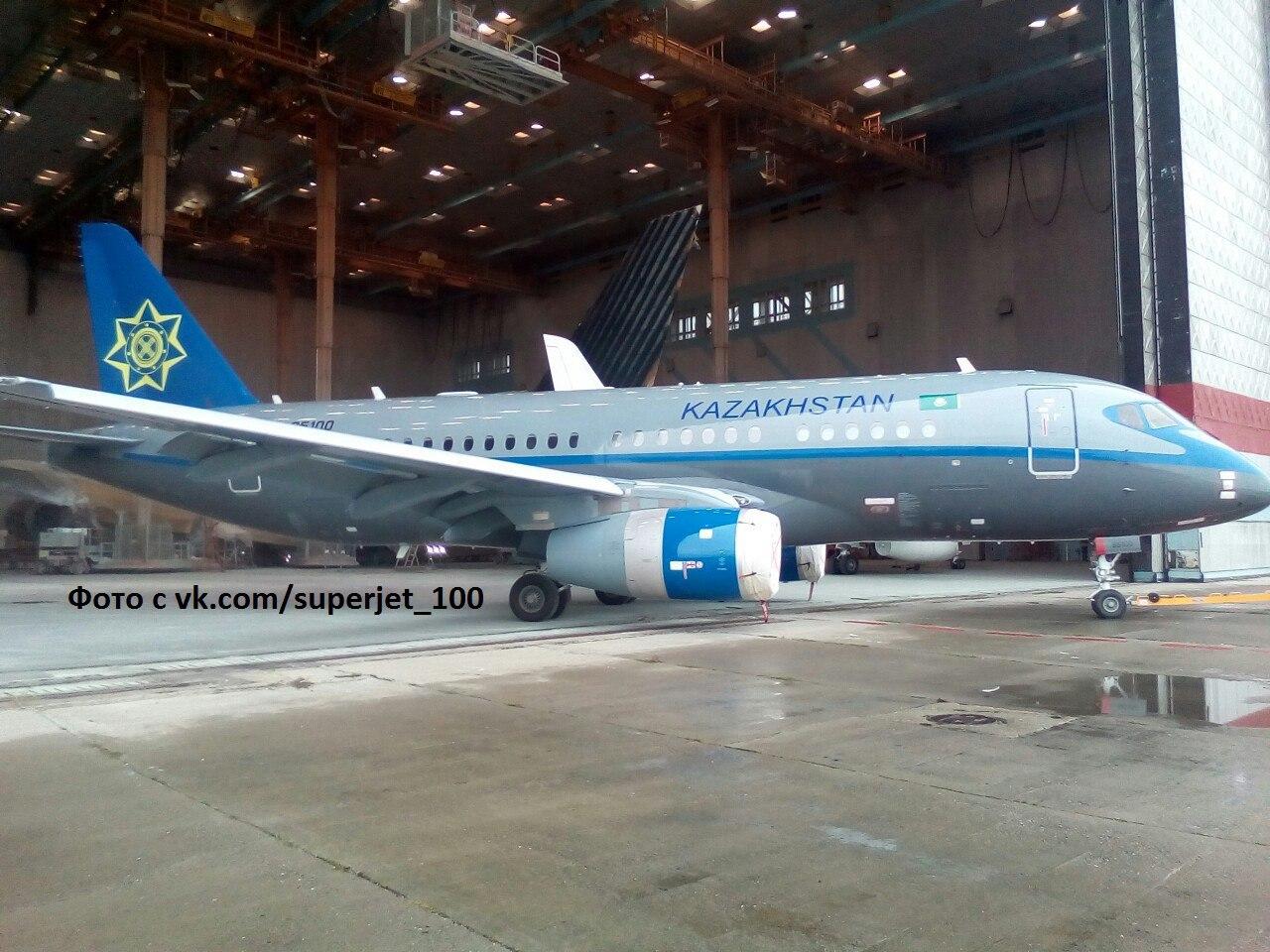 Sukhoi Superjet-100 UN-95100 (95096)