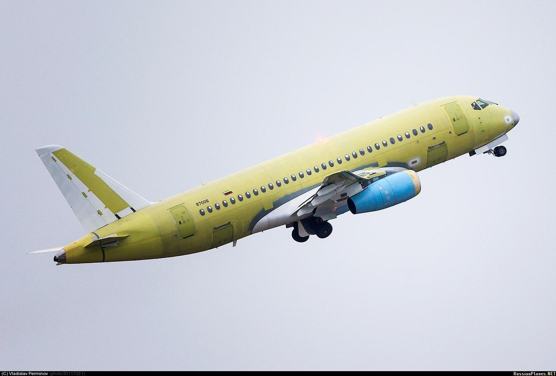 Sukhoi Superjet-100 - 97006 в Жуковском