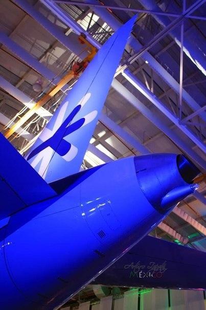 Sukhoi Superjet-100 - Хвост самолета Интерджет