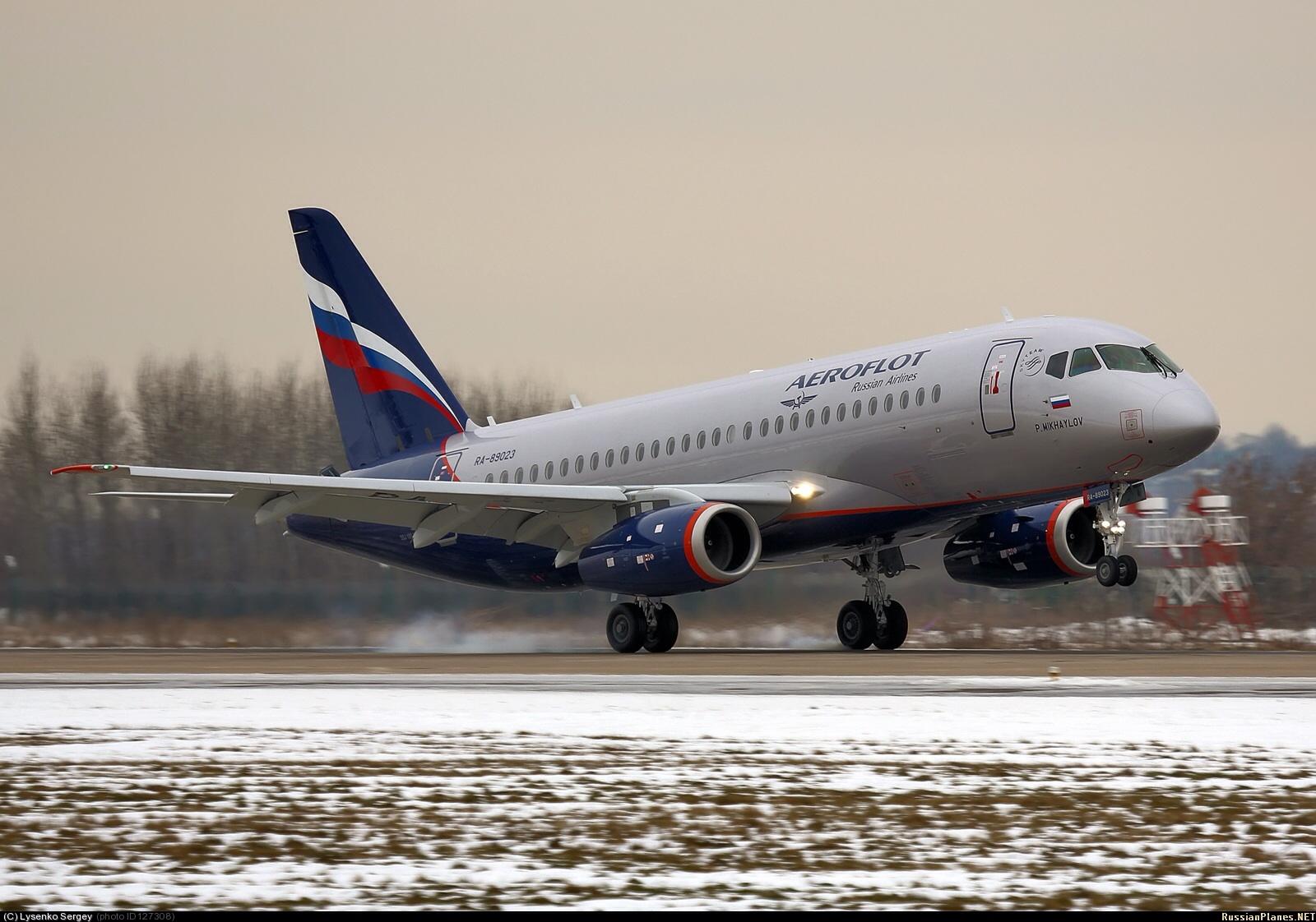 Sukhoi Superjet-100 - 95041