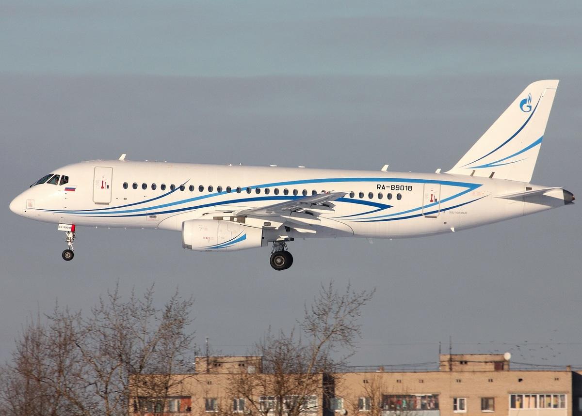 Sukhoi Superjet-100 - УТП в Остафьево