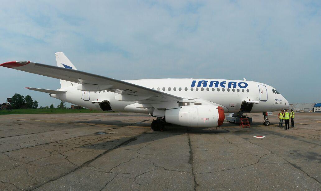 Sukhoi Superjet-100 RA-89002 (95010)