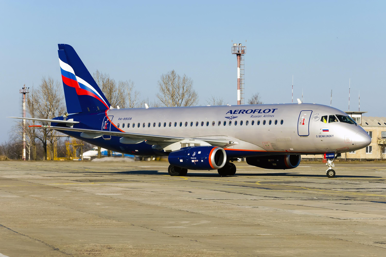 Sukhoi Superjet-100 - RA-89008 в Днепропетровске