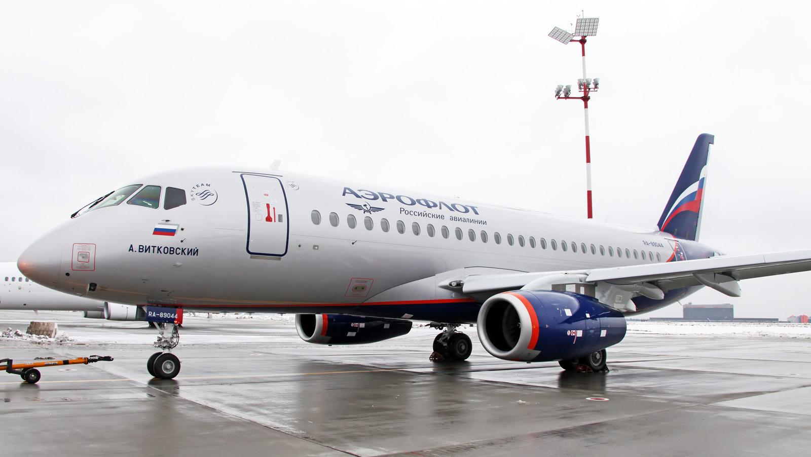 Sukhoi Superjet-100 RA-89044 (95076)