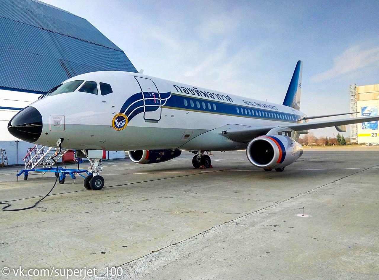 Sukhoi Superjet-100 60317 (95093)