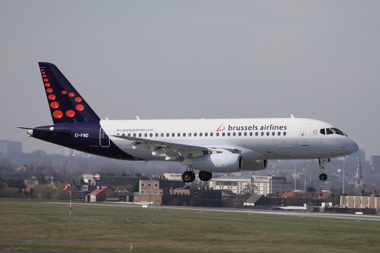 Sukhoi Superjet-100 - в ливрее Brussels Airlines