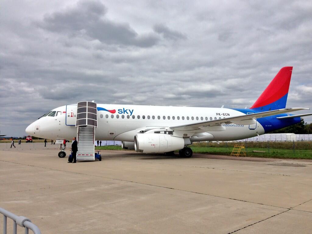 Sukhoi Superjet-100 (95031)
