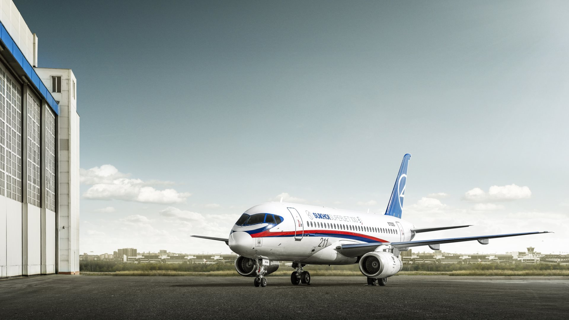 Sukhoi Superjet-100 - wallpaper1920x1080
