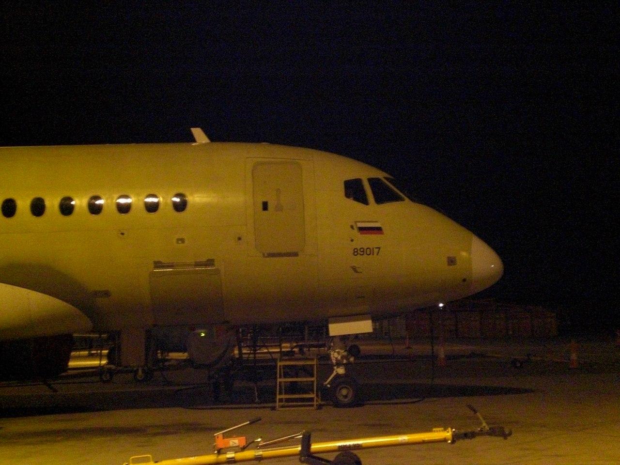 Sukhoi Superjet-100 - 89017 в Комсомольске-на-Амуре
