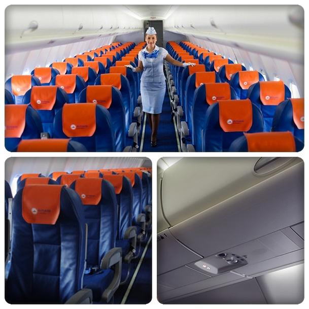 """Салон SSJ100 авиакомпании """""""