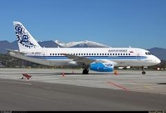 Sukhoi Superjet-100 - RA-89001 в Сочи