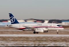Sukhoi Superjet-100 - 97003 в Раменском, декабрь 2013