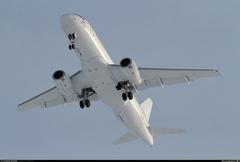 Sukhoi Superjet-100 - 95037 в небе