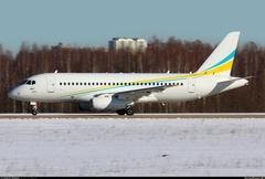 Sukhoi Superjet-100 - в ливрее Комлюкс
