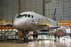 Sukhoi Superjet-100 - Кастомизация в Ульяновске