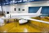 Sukhoi Superjet-100 - 95037 в ангаре ЛИК