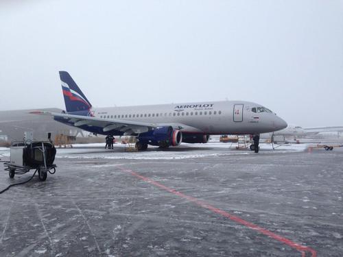 Sukhoi Superjet-100 RA-89045 (95079)