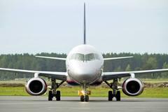 Sukhoi Superjet-100 - В Риге первый раз