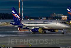 Sukhoi Superjet-100 - RA-89017