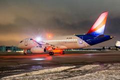 Sukhoi Superjet-100 - PK-ECN в Домодедово