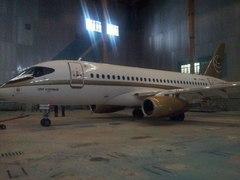 Sukhoi Superjet-100 - Суперджет в ливрее для Центр-Юг